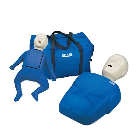 In home online CPR course mannequins shipped to you